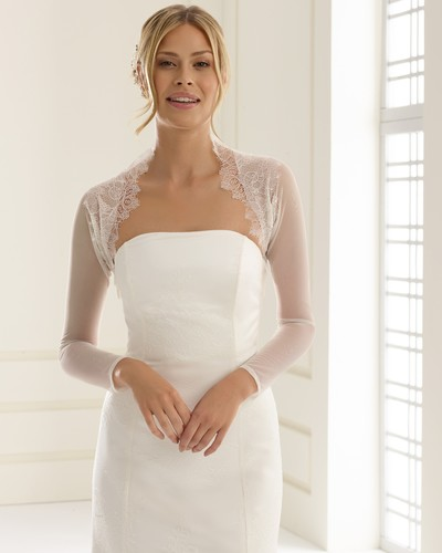 Lace and Tulle bridal shrug